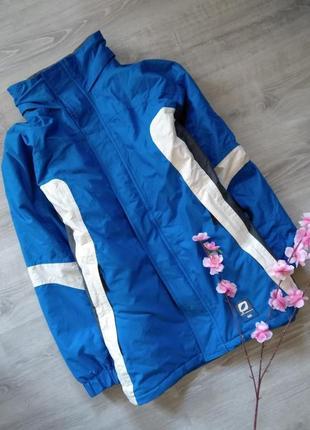 Термокуртка , горнолыжная . синяя