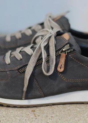 Шикарные кожаные туфли, кроссовки paul green 40-41