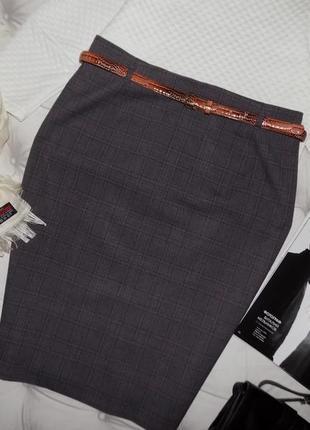 Красивая офисная классическая юбка