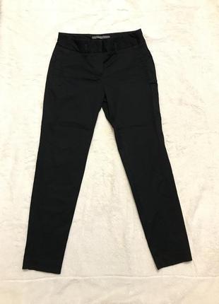 Чёрные укороченые брюки