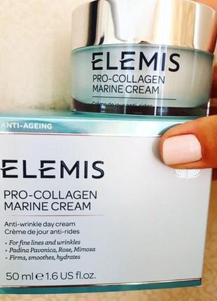 Elemis pro-collagen marine cream  дневной крем для лица