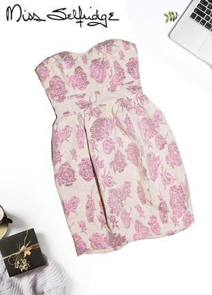 Коктельное платье miss selfridge