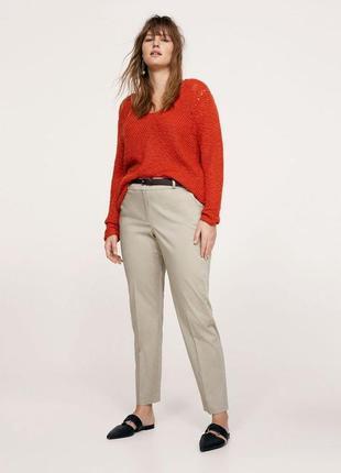 Обнова! брюки штаны классика зауженные укороченные нюдовые беж новые бренд evans