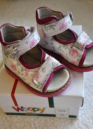 Детские ортопедические босоножки woopy orthopedic, обувь летняя сандали для  девочки aca8e67981b