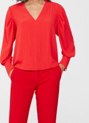 Червона блузка mango