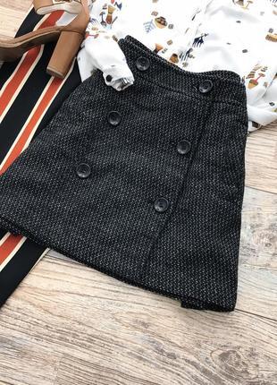 Базовая юбка шерсть amisu