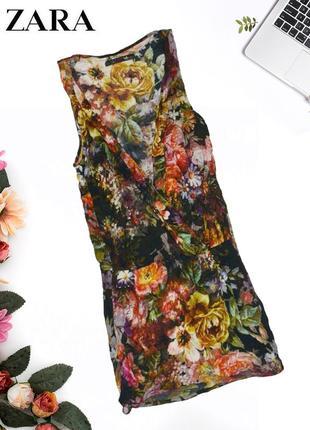 Платье с нахлестом на декольте платье с нахлестом на декольте zara