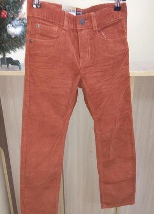 Вельветовые джинсы kiabi ( франция ) на 8 лет ( 126-131 см)