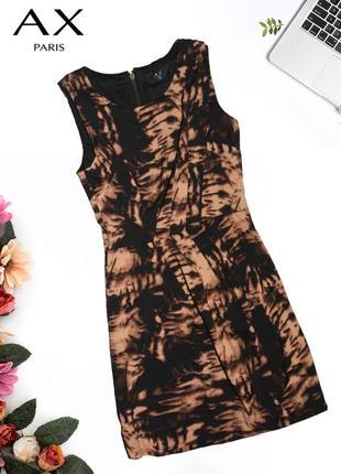 Платье в абстрактный паттерн ax paris