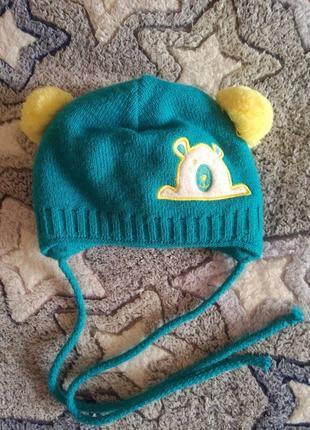 Зимняя термо шапка agbo