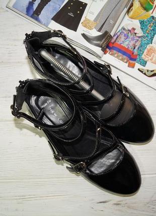 New look. красивые туфли с ремешками4