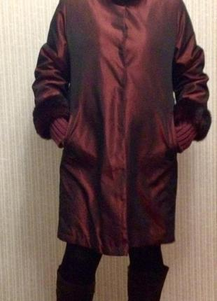 Элегантное пальто dominew, италия, осень-зима