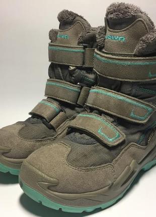 Детские зимние термо ботинки lowa