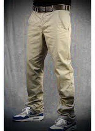 Хлопковые плотные брюки баталы (оригинал) обхват пояса 102 см.1