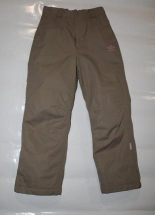 Рост 152-158, горнолыжные мембранные подростковые штаны board angels