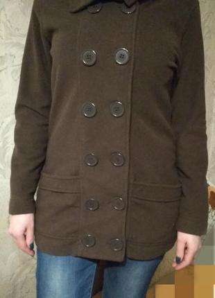 Флисовая кофта пальто 42-44