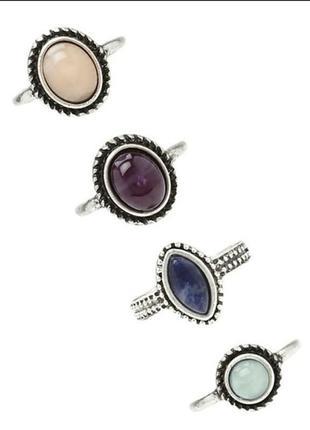 4 шт ring набор колец кольцо бохо стиль