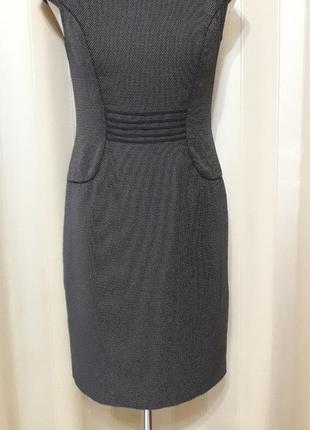 Классическое платье сарафан офис размер 36/10
