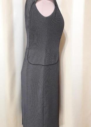 Классическое платье сарафан офис размер 36/104 фото