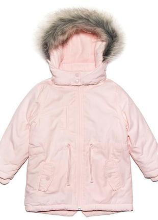 Куртка парка детская lupilu германия размер 110-116 см
