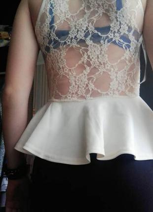 Блуза с баской2