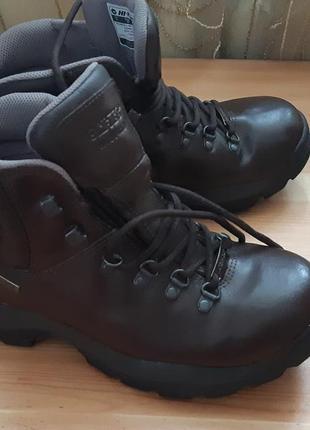 Демисезонные неубиваемые ботинки,ботиночки кожа, унисекс