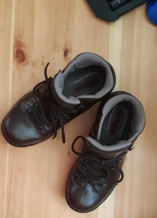 Демисезонные неубиваемые ботинки,ботиночки кожа, унисекс! скидка!!2 фото