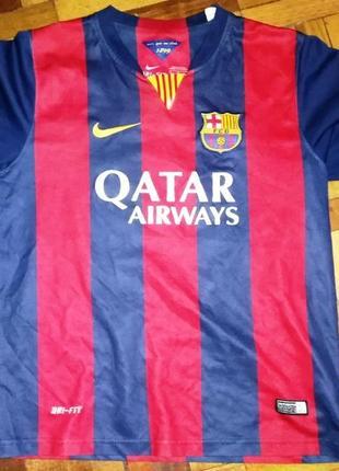 Детская футболка fc barcelona, месси