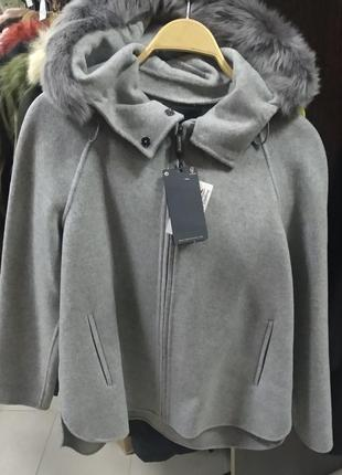 Пальто , пончо, massimo dutti
