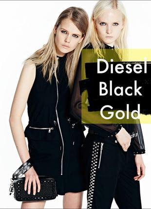 Платье премиум diesel black gold/pret-a-porter