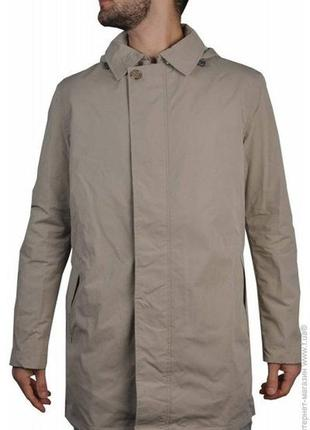 af2926828d0 Мембранная мужская куртка тренч ветровка пальто плащ geox m3221c бежевая от  geox