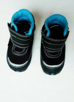 Зимние термо ботинки gulliver 21р3