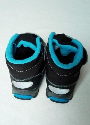 Зимние термо ботинки gulliver 21р4