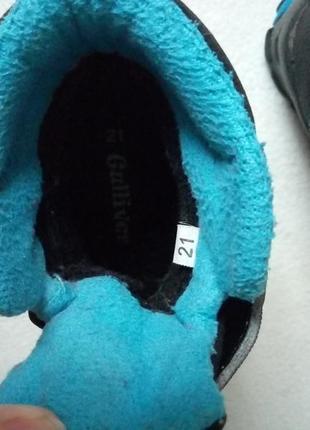 Зимние термо ботинки gulliver 21р5