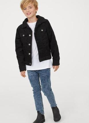 Крутые джинсы скинни h&m наличие на 12-13, 13-14 и от 14 лет