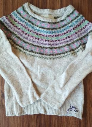 Детский теплый свитер joules 095