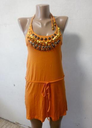 Туника короткое платье размер s
