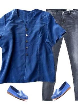 Блуза под бархат размер 52-54