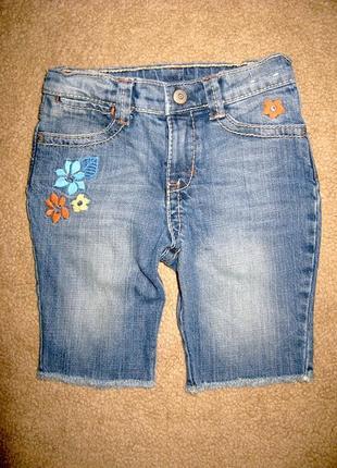 Джинсовые шорты gymboree на 5 лет