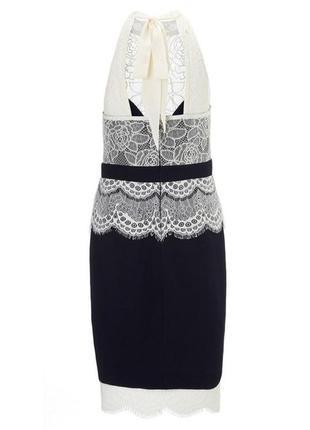 Ажурное элегантное платье lipsy m-l8 фото