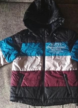 Куртка reserved теплая, 3-4 года, осень, весна