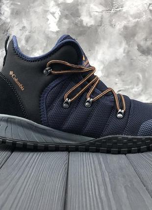 Синие мужские зимние ботинки columbia fairbanks 503 оригинал! 41 42 43 44 45 46 47