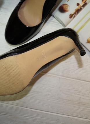 Papaya! базовые фирменные туфли на устойчивой шпильке2