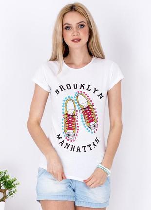 Женская футболка арт. 17147