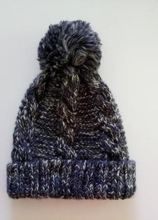 Шапка шапочка теплая marks&spencer. в составе шерсть.