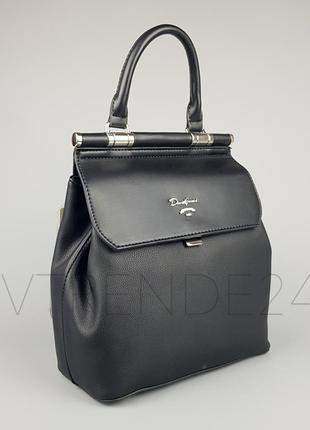 0b3a96149611 Бесплатная доставка нп  5954-2 black david jones мега крутой каркасный  рюкзак