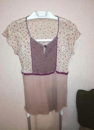 Стрейчевая блуза max&co, р.m/l
