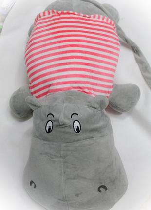 Плед- игрушка -подушка