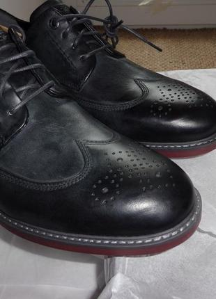 Rockport мужские кожаные оксфорды туфли wingtip tailoring guide