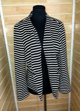 Крутой фирменный пиджак блейзер кардиган жакет  р.xl-xxl m&s